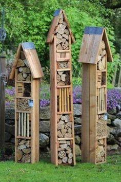 Stilige biehotell Hotel à insectes à quoi cela sert ? #biehotell #hotelainsectes #jardin