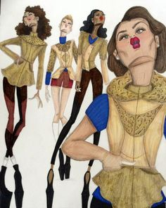 Art & Illustrations by Aleshia Greene - Quilted & beaded coats and jackets By Aleshia...