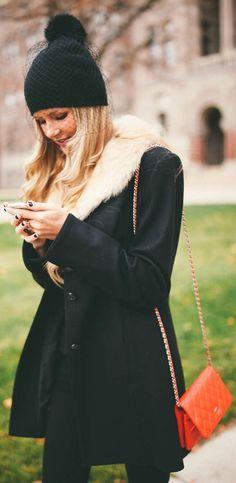 #Winter #Veil #Beanie by Barefoot Blonde