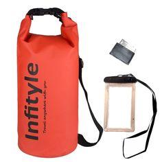 Dry Bag Set Waterproof Floating Bag 20L Kayaking Water Seal Boating Accessories #Infityle