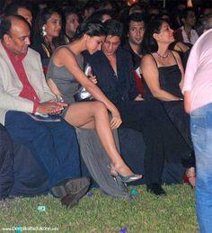 Deepika Padukone and Shah Rukh Khan