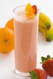 fresh fruit protein shake
