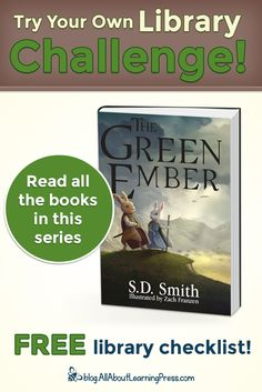Challenge your child to read all the books in The Green Ember chapter book series! Good Books, My Books, Independent Reading, Free Library, Reading Challenge, Chapter Books, Child Love, Read Aloud, Love Reading