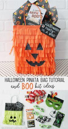 BOO Kit Pinata Bags