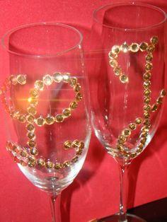 Decora tus copas para boda 45