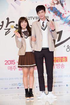A Pink's Jung Eun Ji and Lee Won Geun   Sassy Go Go, Press Conference