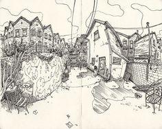 Sketchbooks 2011-12 on Behance, Mateusz Nowakowski