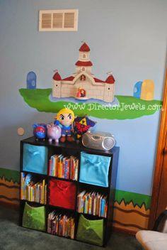 Mario Nursery Inspiration At Directorjewels Com Super Mario Bros Nintendo Theme Diy Decor And