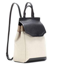 Rag & Bone - Pilot canvas and leather backpack | mytheresa.com