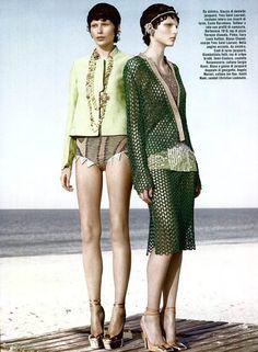 Custo Barcelona for Vogue Italia.
