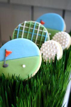 Golf Birthday-Golf Inspired Cookies
