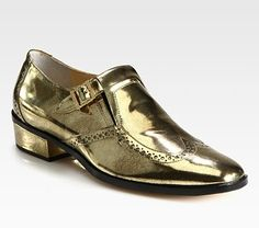 Metallic Oxfords For Fall 2012