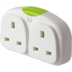 Double plug adaptor - handy if you need to charge more than one device. This one is UK-to-US, there are also EU ones available.