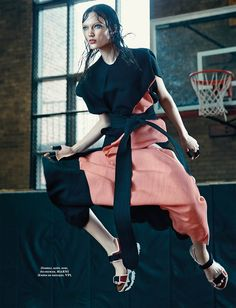 Naty Chabenko by Sophy Holland for L'Officiel Ukraine June 2015