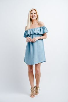 Blue Jean Baby Dress