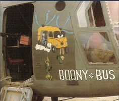 "CH-47A 67-18452 ""Booney Bus"", 132th ASHC between 1970-1971, Vietnam"