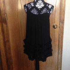 🎉🎉Host pick Girly Girl party 3/22🎉🎉Bebe dress Black Bebe dress.  NWT!  NEVER WORN! bebe Dresses
