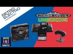 Today I have a little treat for you (and more so for me) in getting to show off the Retro Electro Collectible Model of the Sega Mega Drive (Gene. Game Booth, Youtube Thumbnail, Sega Mega Drive, Watch, Games, Clock, Gaming, Toys, Wrist Watches