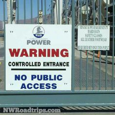 The #ChelanCountyPUD is concerned about your #safety at #RockyReachDam near #Wenatchee.