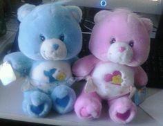 CARE BEARS BABY HUGS & BABY TUGS 2002