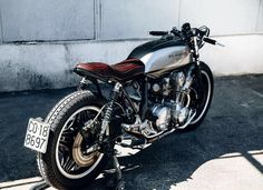 Ton Up: CB 750 by Ireful Motorcycles | Garagem Cafe Racer