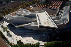 MAXXI Museum -Zaha Hadid – CAD Design   Free CAD Blocks,Drawings,Details