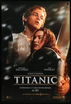 Directed by James Cameron. With Leonardo DiCaprio Kate Winslet Billy Zane Kathy Bates. A seventeen-year-old aristocrat falls in love with a kind but poor artist aboard the luxurious ill-fated R. Titanic Movie Poster, Film Titanic, Movie Tv, Rms Titanic, 2012 Movie, Billy Zane, Leonardo And Kate, Image Fashion, Cinema