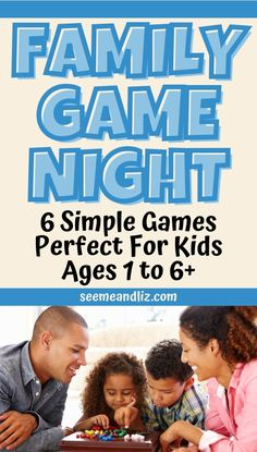 Family game ideas can be tough to find when you have young children! Here are some fun family games recommended by a former speech-language pathologist. These 6 simple games are perfect for toddlers, preschoolers and even school aged children! Preschool Learning Toys, Learning Toys For Toddlers, Play Based Learning, Games For Toddlers, Indoor Activities For Kids, Free Activities, Learning Through Play, Toddler Learning, Toddler Activities