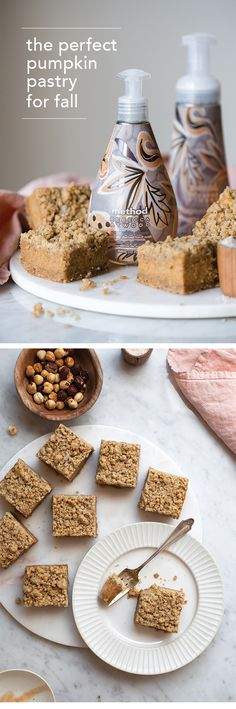 savor the flavors of fall + whip up these simple pumpkin clove pavé bars inspired by our limited edition pumpkin clove fragrance. #methodlovesRA