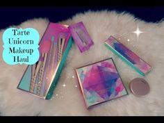 Tarte Unicorn Makeup Haul- Brushes & Eyeshadow Palette w/ Swatches