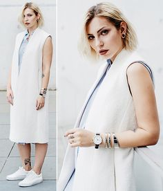 Get this look: http://lb.nu/look/8367577  More looks by Masha Sedgwick: http://lb.nu/mashasedgwick  Items in this look:  Calvin Klein Watch   #chic #edgy #elegant