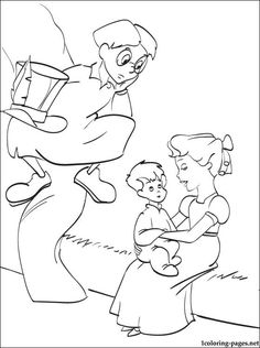 peter pan coloring pages - Google-søgning