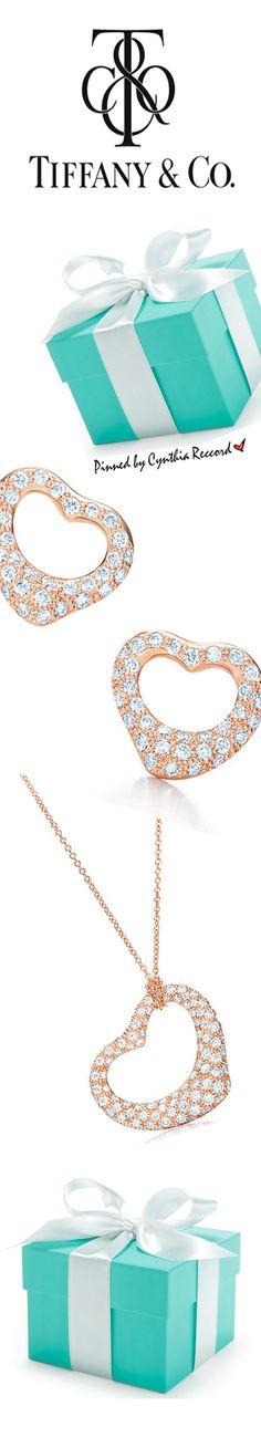 Valentine's Gifting   Elsa Peretti® Open Heart Collection for Tiffany & Co.   cynthia reccord   #Impo