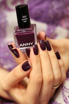 ✔ ANNY Nail Polish Purple Rain  So wunderful colour.  My perfekt spring coulor. I love it ! board_id