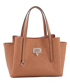 Another great find on #zulily! Tan Marlon Tote #zulilyfinds