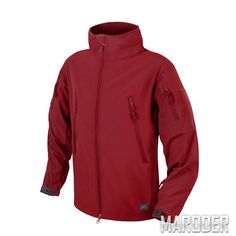 Куртка тактическая Gunfighter Soft Shell Crimson Sky. Helikon-tex