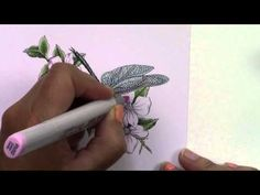 Copic in the Craft Room: Mother Day Card Project (2015) - YouTube