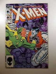 The Uncanny X-Men #191 in VF-NM Condition!! *Auctions by Infinity Comics!!*: $0.99 (0 Bids) End Date: Sunday Apr-1-2018 17:32:23 PDT Bid…