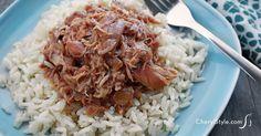 Slow cooker bourbon chicken - CherylStyle
