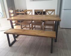 Brinkley X rustique industriel récupéré bois par TrentsideFurniture