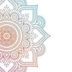 Mandala Doodle, Mandala Drawing, Mandala Painting, Mandala Art, Cute Wallpapers, Wallpaper Backgrounds, Iphone Wallpaper, Retro Background, Hippie Art