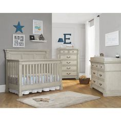 Monbebe Everett Collection 4-in-1 Convertible Crib Set | from hayneedle.com