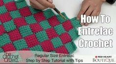 How to Entrelac Crochet - Video Tutorial