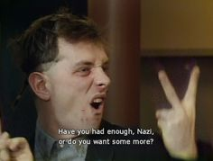 Rik Mayall insult from The Young Ones British Humor, British Comedy, Welsh, Rik Mayall Bottom, Ben Elton, Tv Show Quotes, First Tv, Young Ones, Tv Actors