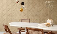From Spring 2017 Spectra collection comes the pattern. Offered in five colors, this unique possesses a three dimensional pattern with a soft look and feel. It is stain and water repellent and offers a positive acoustic effect. Arte Wallcovering, Flat Ideas, Three Dimensional, Surface Design, Wall Design, All The Colors, Spectrum, Lounge, Wall Decor