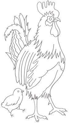 galos e galinhas pintura - Pesquisa Google