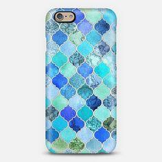 iphone 6 case blue on Wanelo