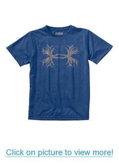 87d09dadb9489 Under Armour Men39s Heather Grey UA Ghost Antler Logo TShirt