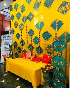 new Ideas wedding decorations stage mehendi Desi Wedding Decor, Wedding Stage Decorations, Backdrop Decorations, Diwali Decorations, Wedding Mandap, Wedding Ideas, Trendy Wedding, Backdrop Ideas, Wedding Venues