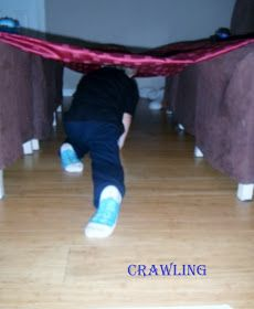 Adventures at home with Mum: Easy Gross Motor Obstacle Course